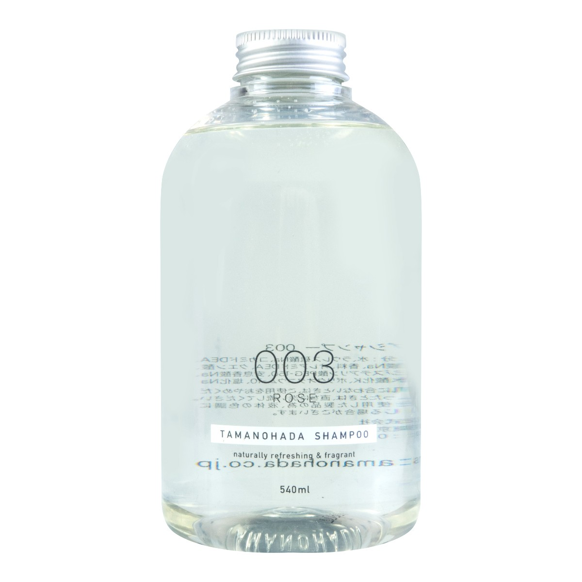 日本TAMANOHADA玉肌 无硅油洗发水 #003玫瑰香 540ml