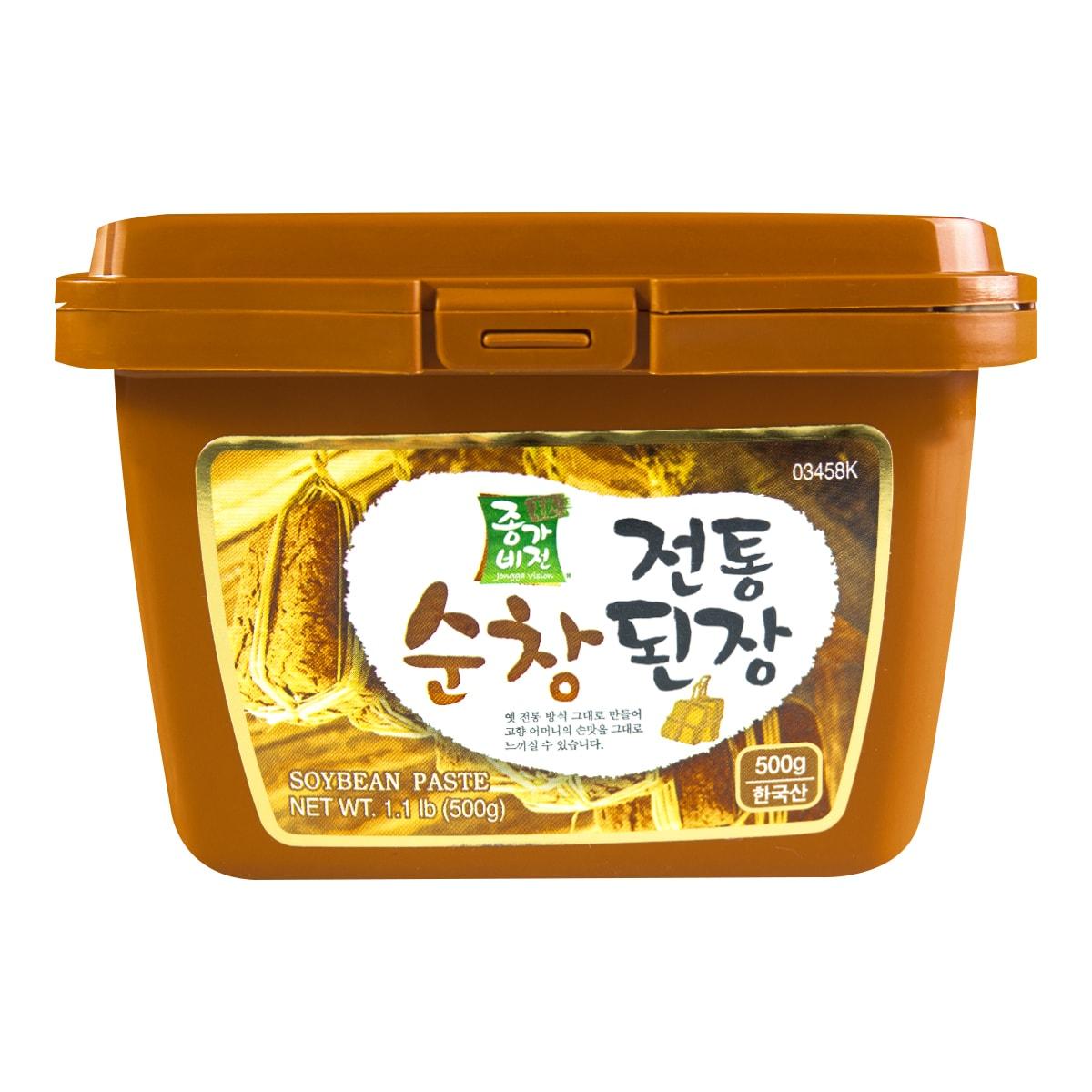 韩国JONGGA VISION 秘制大酱汤专用黄豆酱 500g