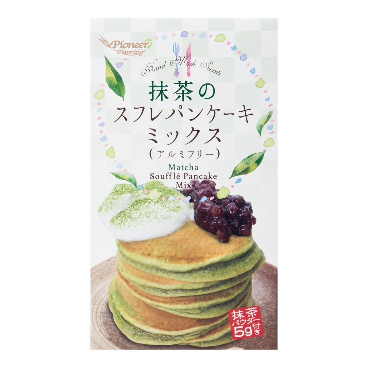 日本PIONEER 舒芙蕾松饼粉 抹茶风味 255g