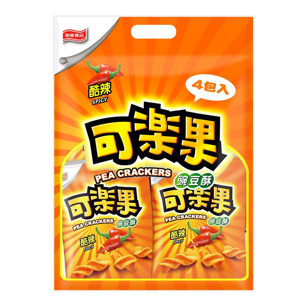LIANHWA Koloko Pea Crackers Spicy 228g