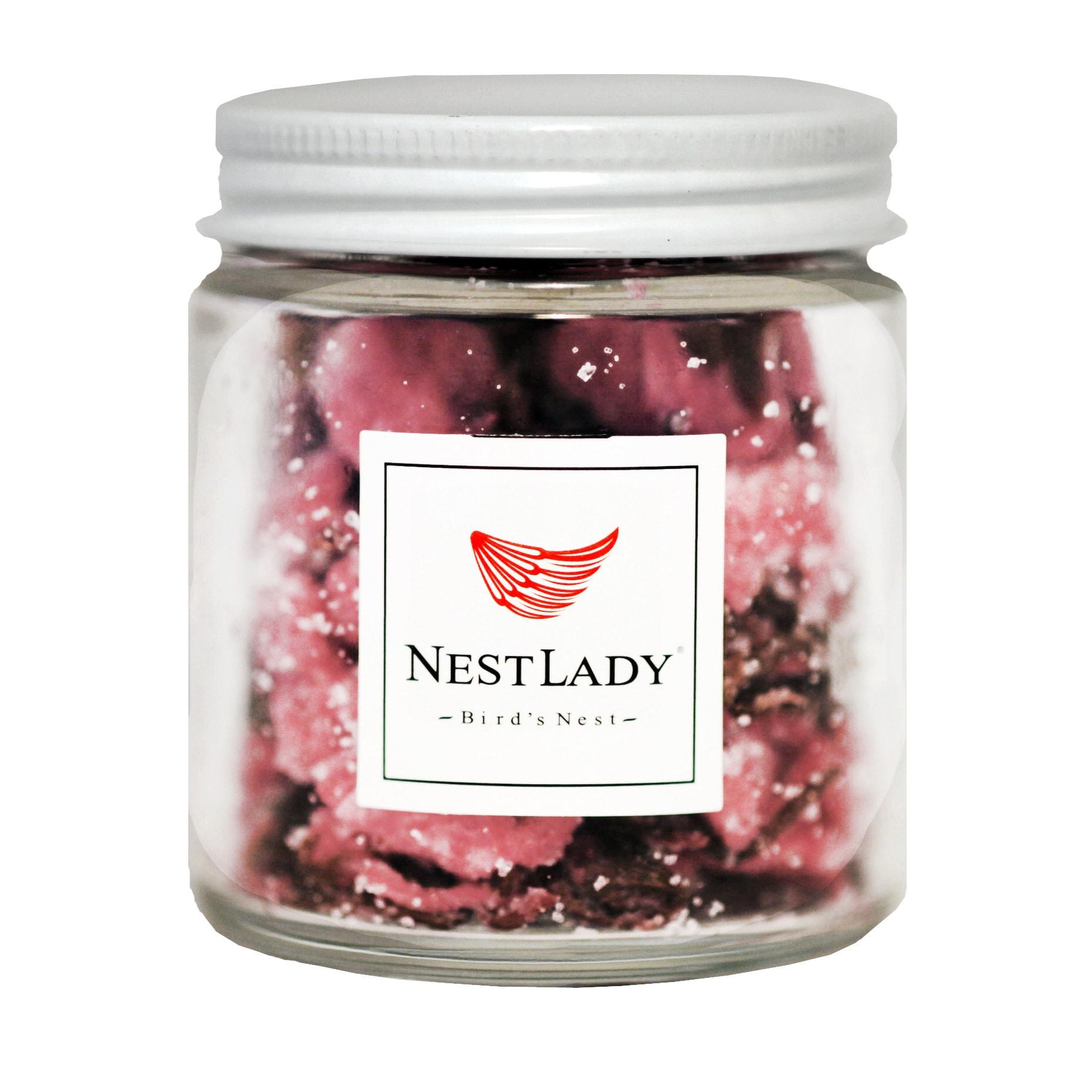 美国NestLady 日本盐渍樱花茶 深层补水 罐装 70g