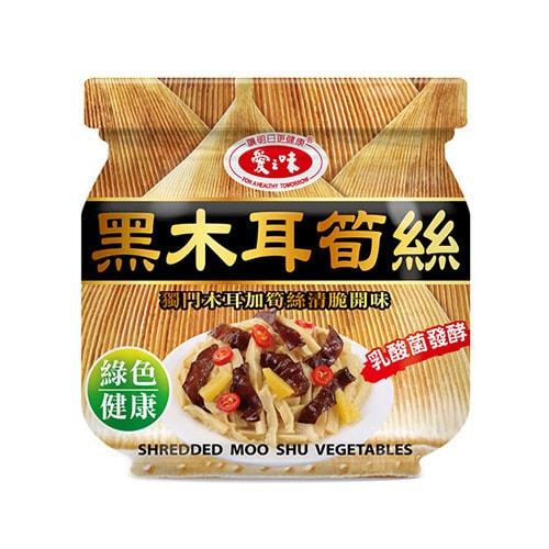 台湾爱之味 饭前开胃菜 黑木耳筍丝 190g