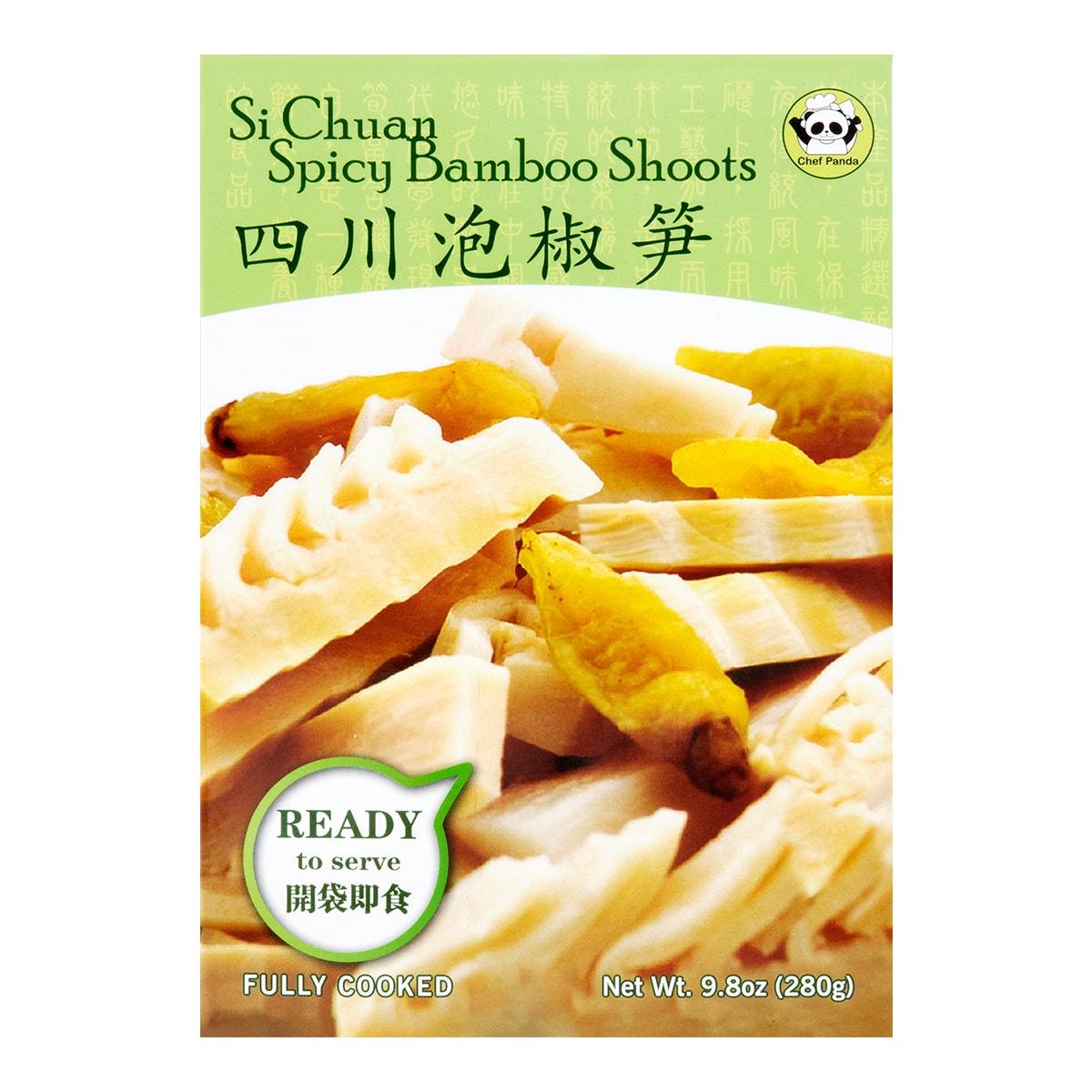 新健康 即食四川泡椒笋 280g