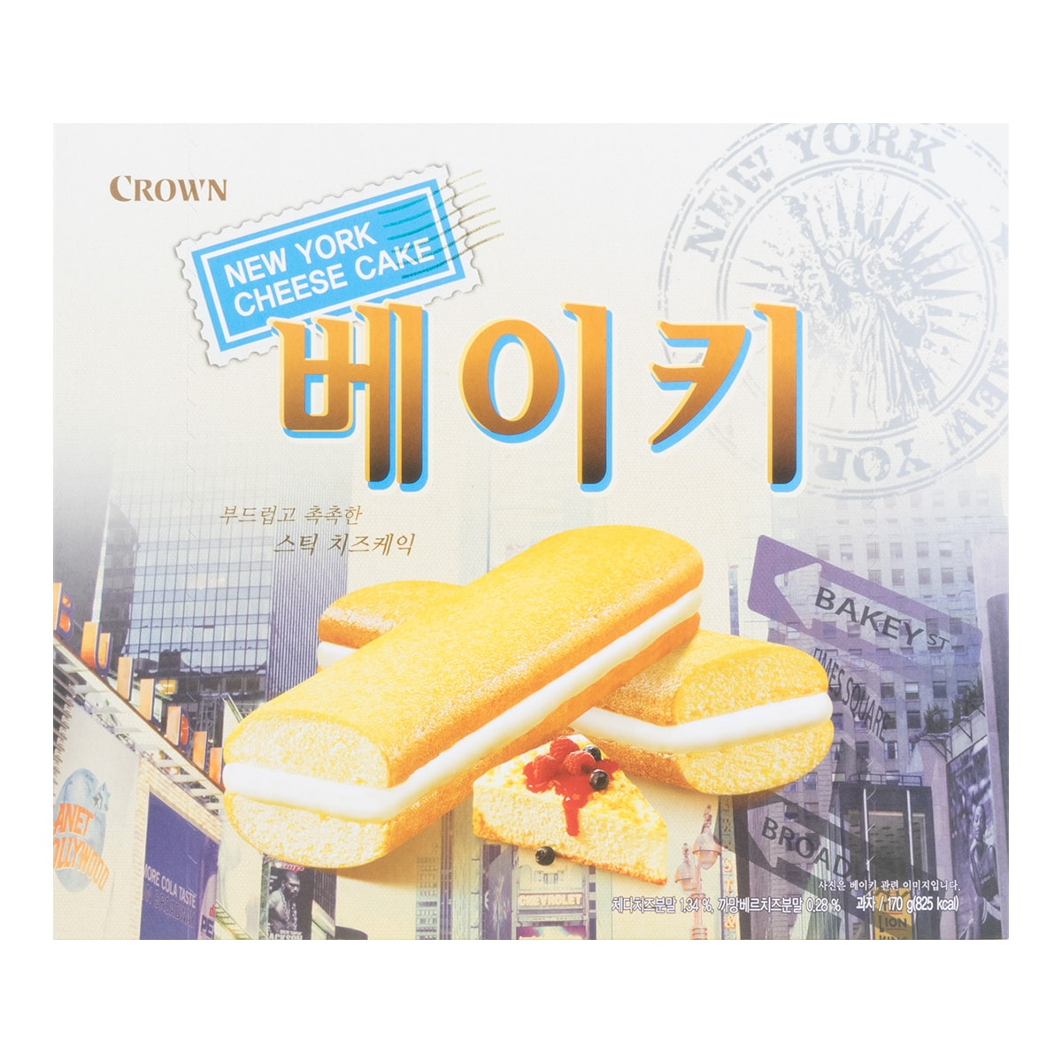 CROWN New York Cheese Cake 170g