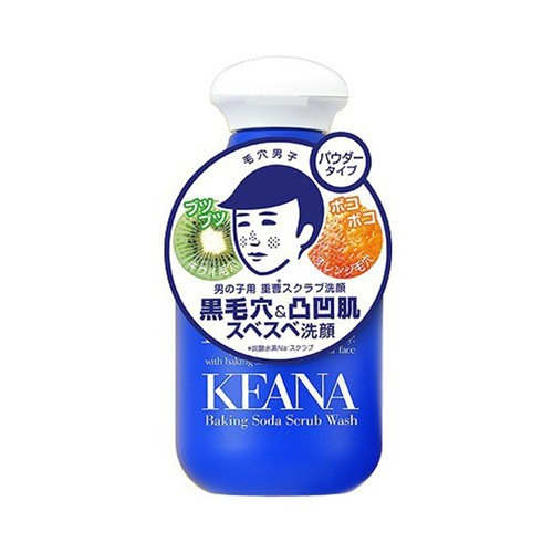 日本ISHIZAWA LAB石泽研究所 KEANA毛孔抚子 小苏打磨砂洁面粉 100g 男士专用