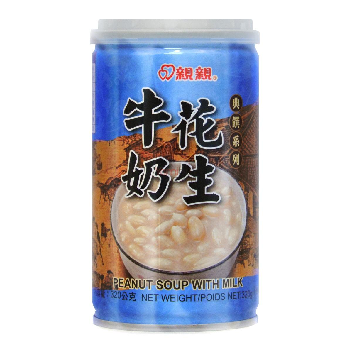 台湾亲亲 典选系列 牛奶花生 320g