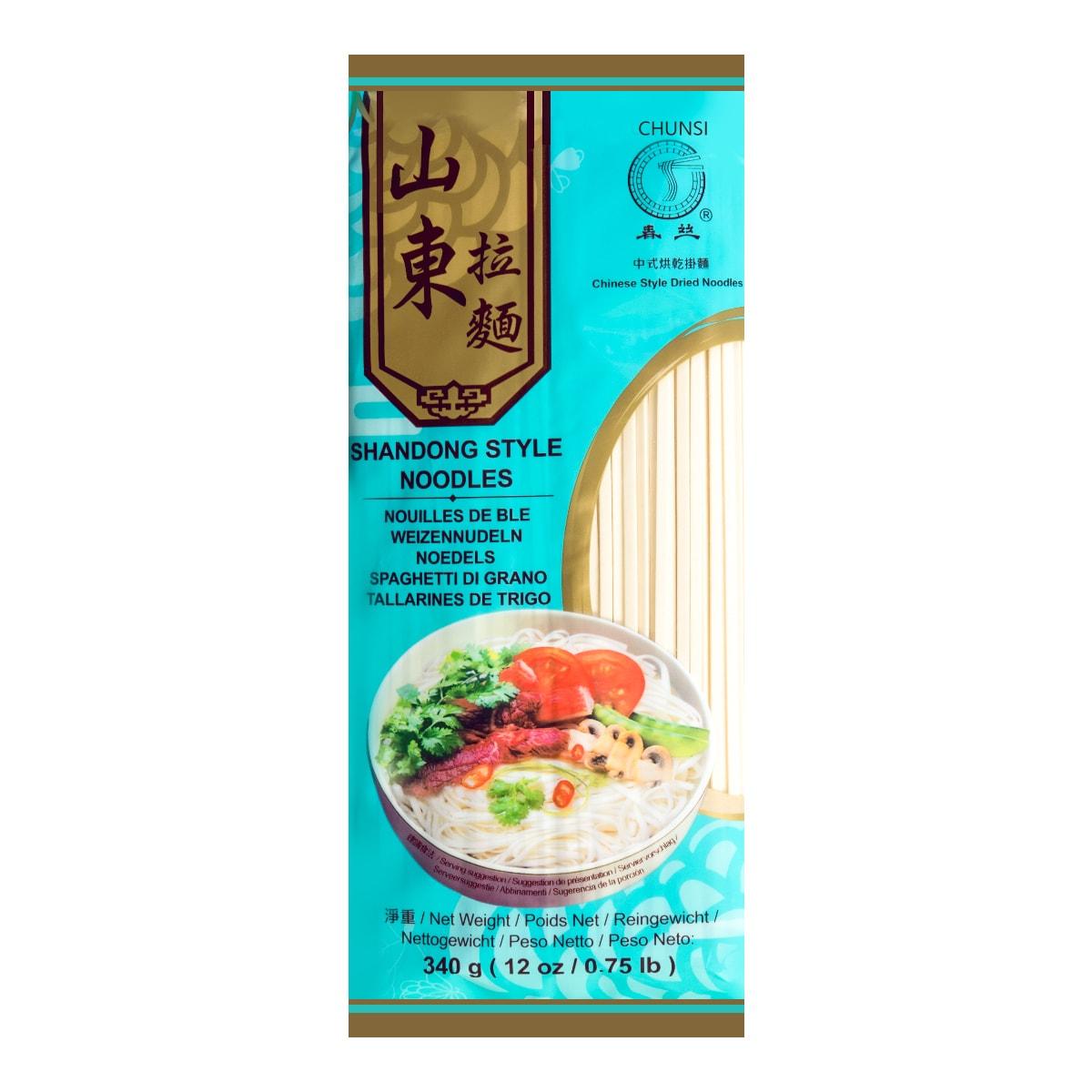 【清仓】春丝  山东拉面  340g