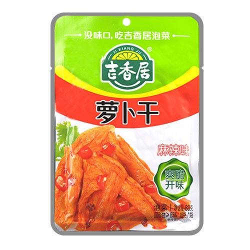 吉香居 即食小菜 萝卜干 麻辣味 80g