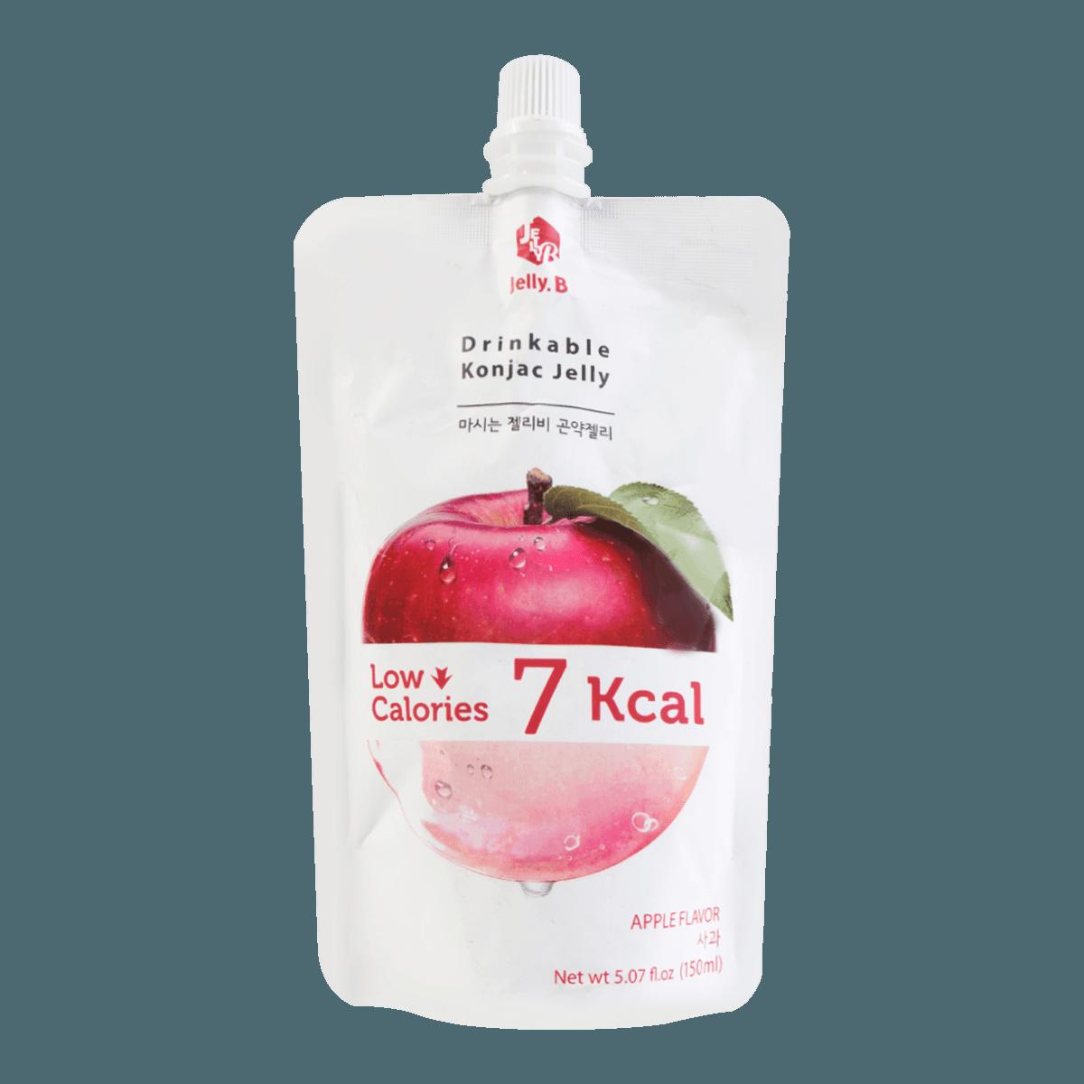 韩国JELLY.B 低糖低卡蒟蒻果冻 苹果味 150ml