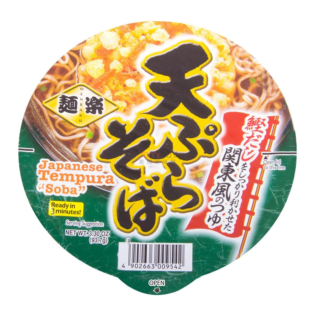 日本HIKARI 日式天妇罗味荞麦面 93.7g