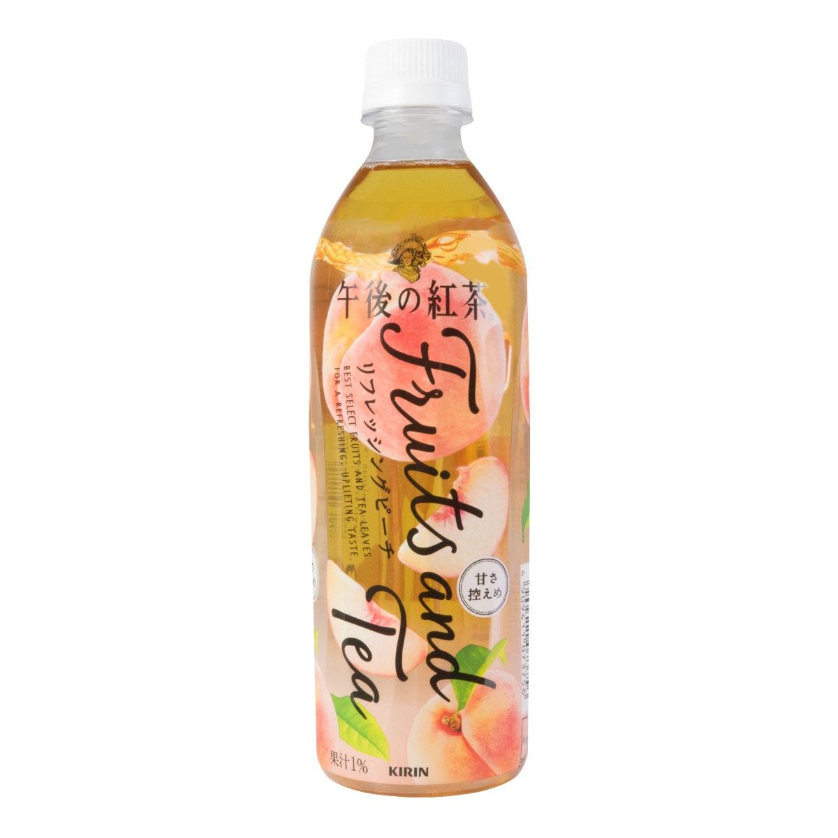 日本KIRIN 午后の红茶 清新桃子味 500ml