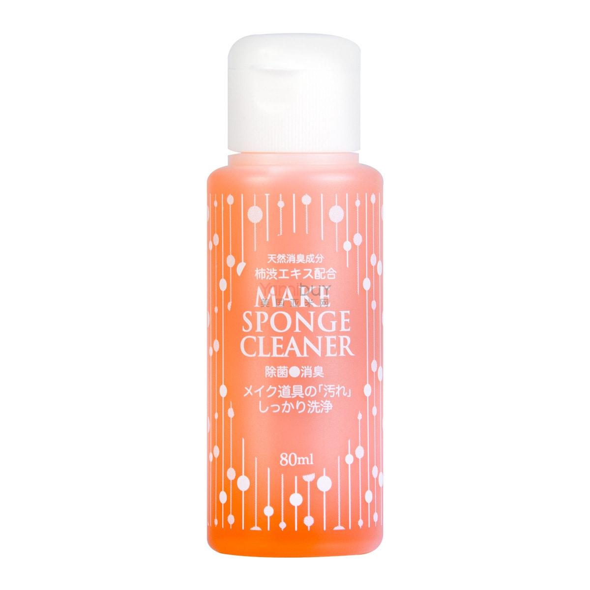 日本LYON PLANNING 粉扑海绵化妆刷清洗液 80ml