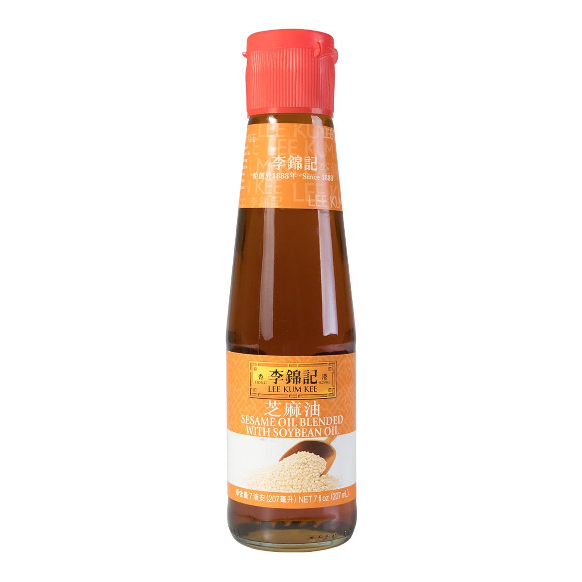 LEE KUM KEE Sesame Oil Blended with Soy Bean Oil 207ml