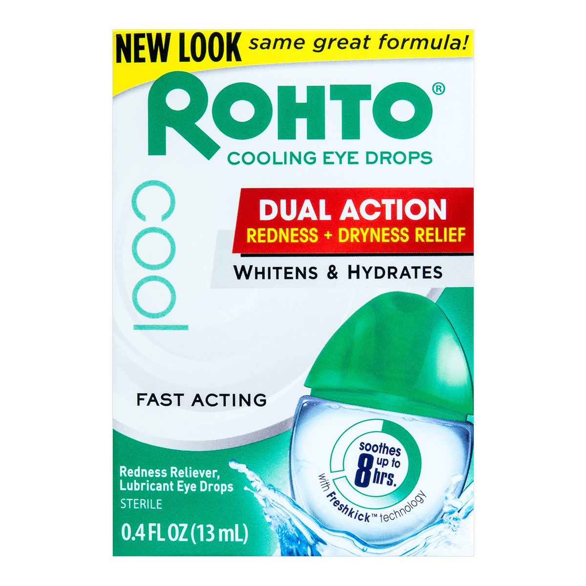 ROHTO COOL Redness Relief Cooling Eye Drops 13ml