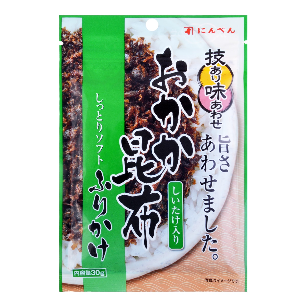 NINBEN Rice Seasoning Mix Okakakonbu 30g
