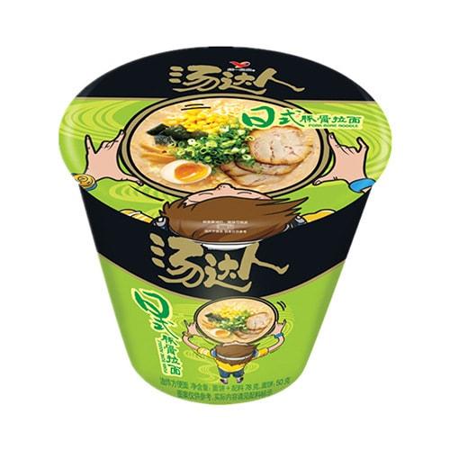 台湾统一 汤达人 日式豚骨拉面 杯装 83g