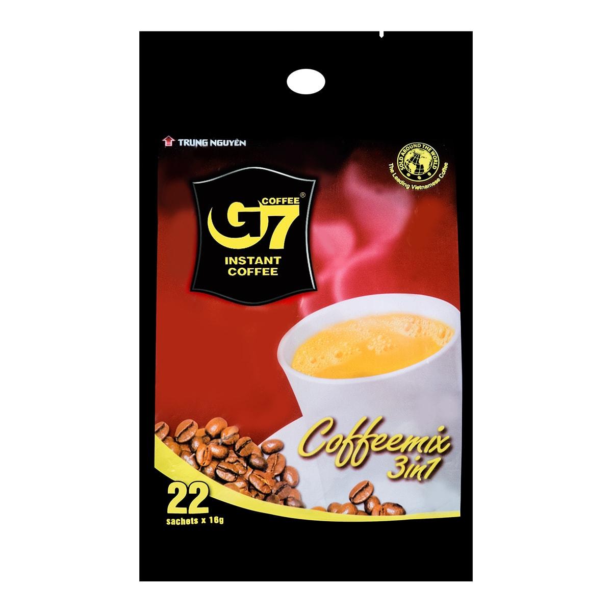 越南中原 G7三合一速溶咖啡 22包入 352g