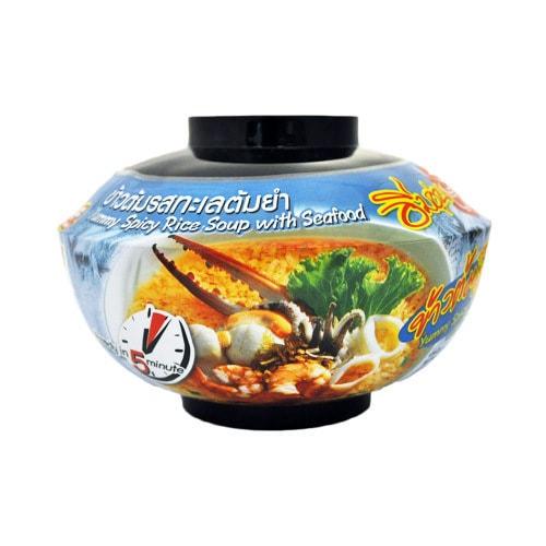 泰国FF 香辣海鲜粥 方便碗装 50g