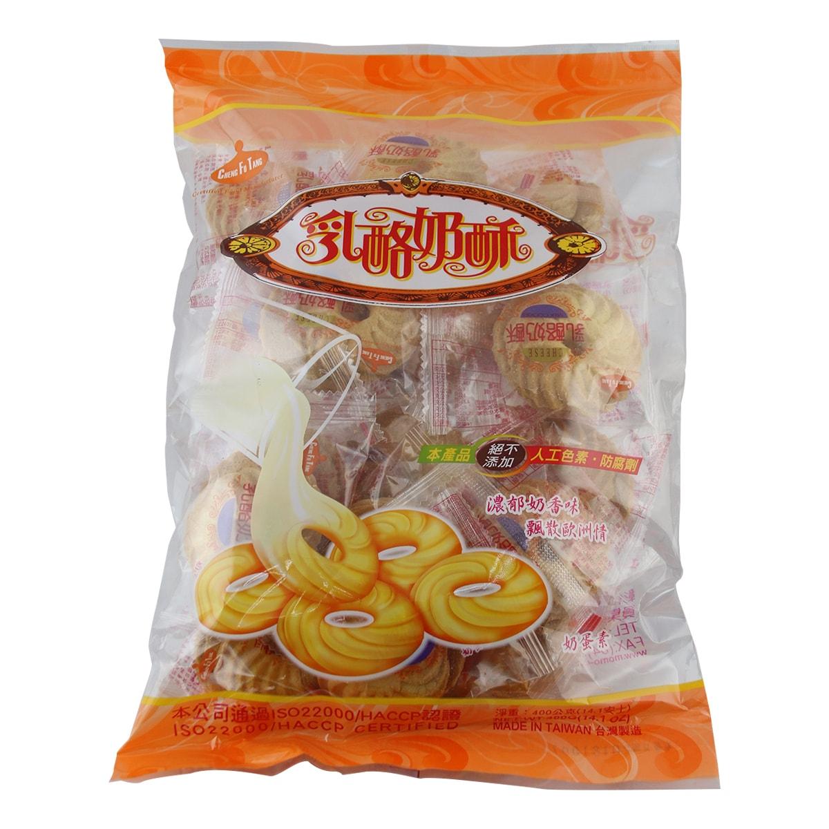 [台湾直邮] 台湾 彰化社头名产-正福堂乳酪奶酥400g(奶蛋素)