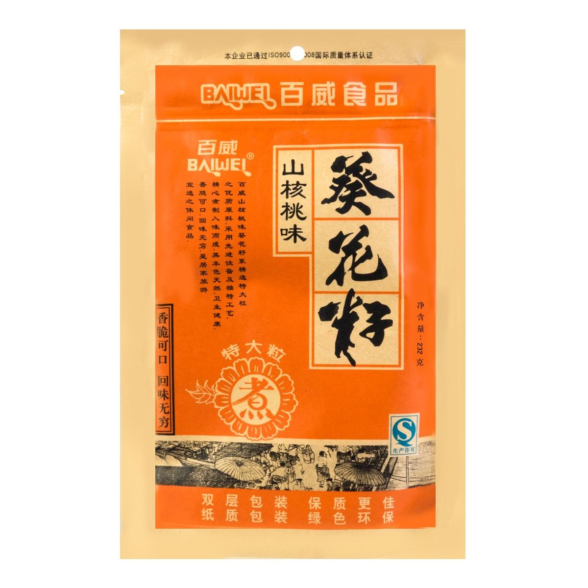 百威  葵花籽 山核桃味 232g