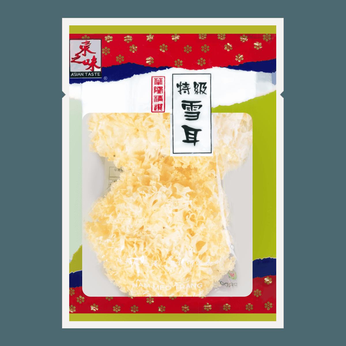 ASIAN TASTE Dried White Fungus 140g
