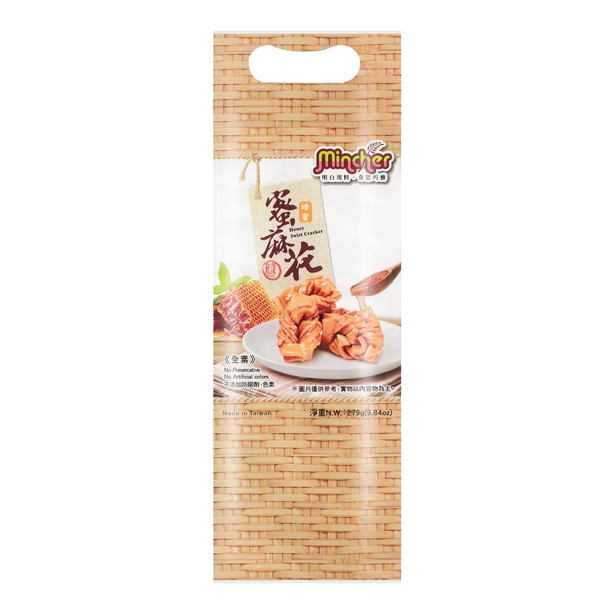 MINCHER Dough Twist - Honey  279g