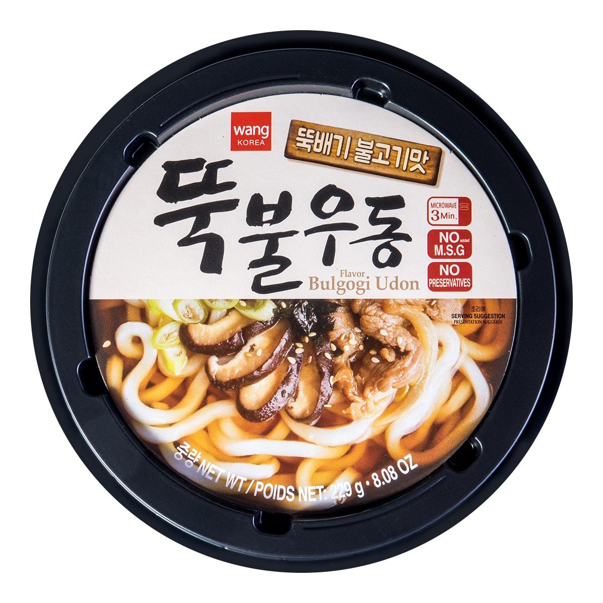韩国WANG 烤肉味乌冬面 229g