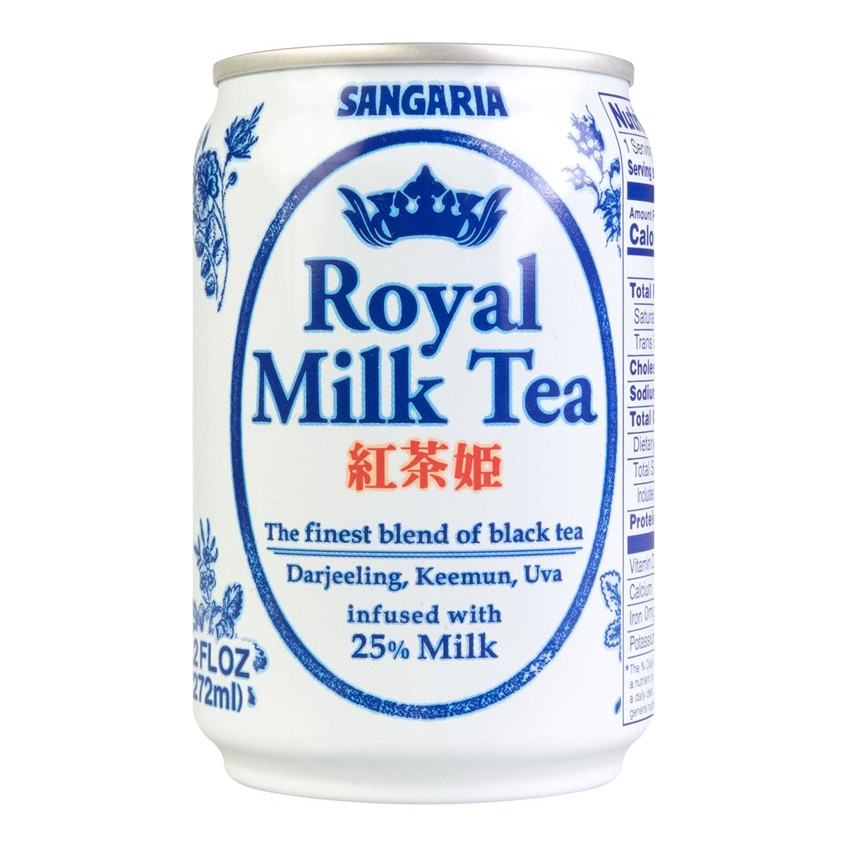 日本SANGARIA 红茶姬 奶茶 272ml