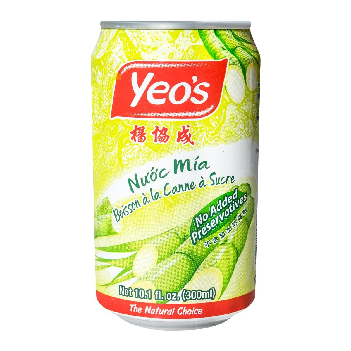 新加坡YEO'S杨协成  甘蔗水  罐装  300ml