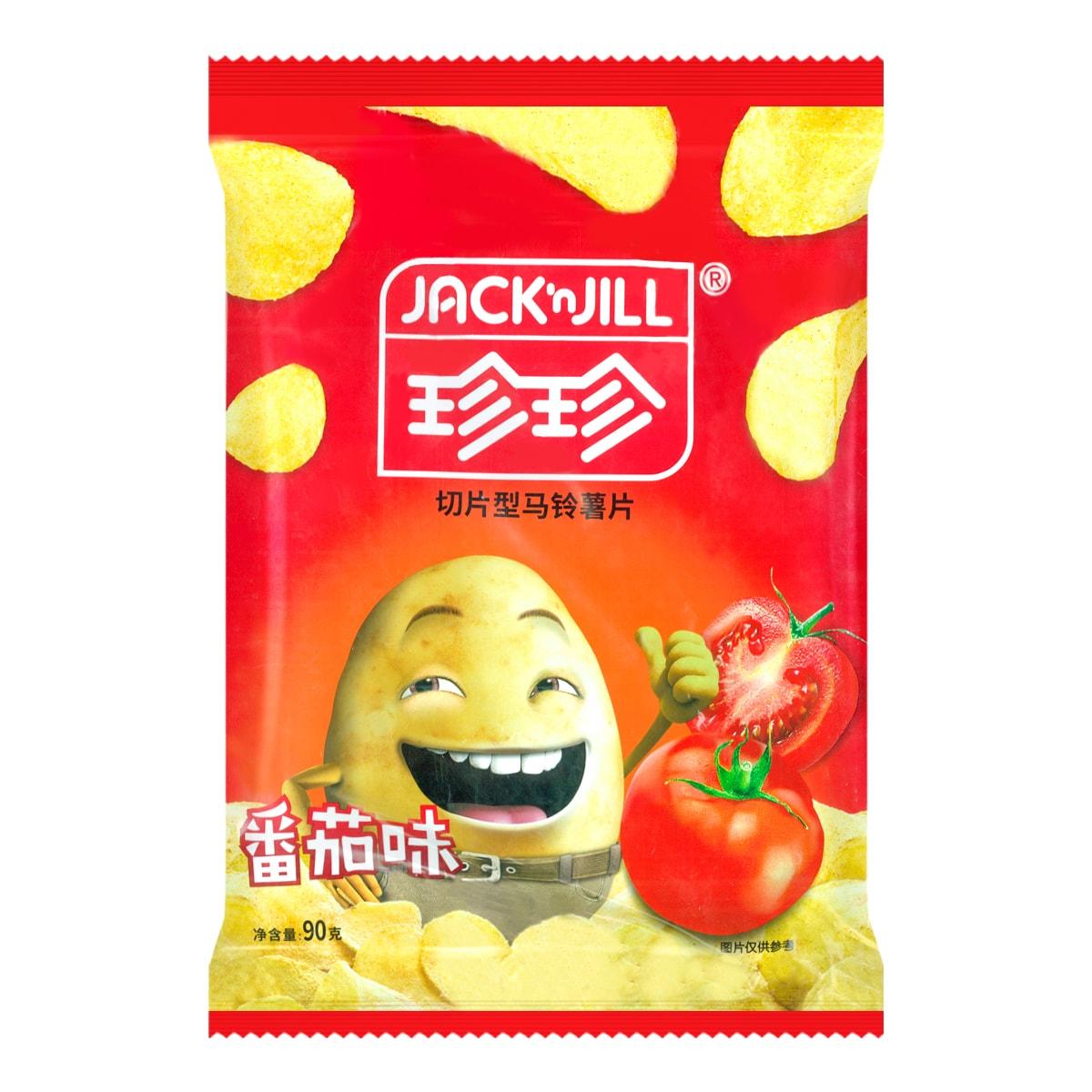 JACK N JILL珍珍 切片型马铃薯片 番茄味 90g