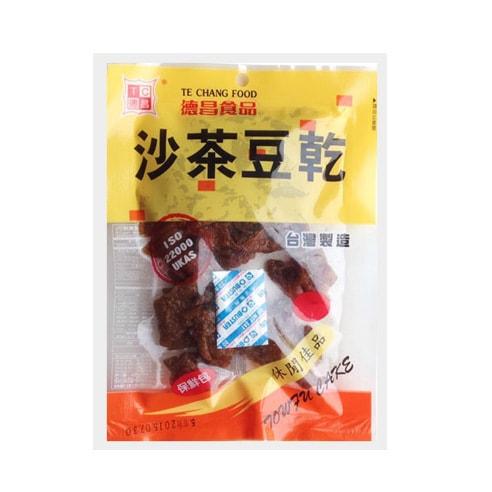台湾德昌食品 沙茶豆干 115g