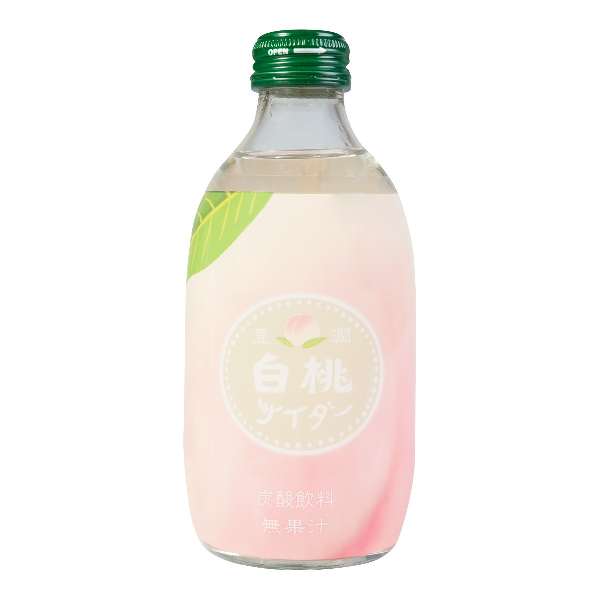 TOMOMASU White Peach Soda 300ml