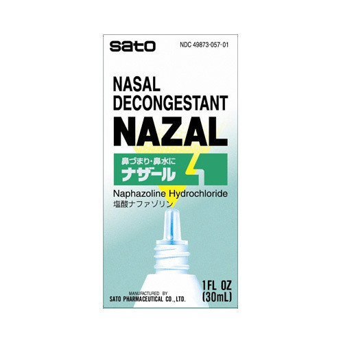 SATO NAZAL Nasal Decongestant 30ml