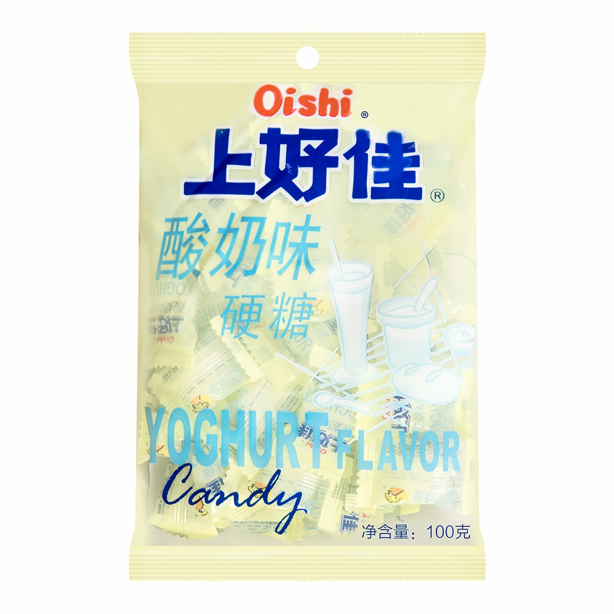 OISHI上好佳 酸奶味 硬糖 100g