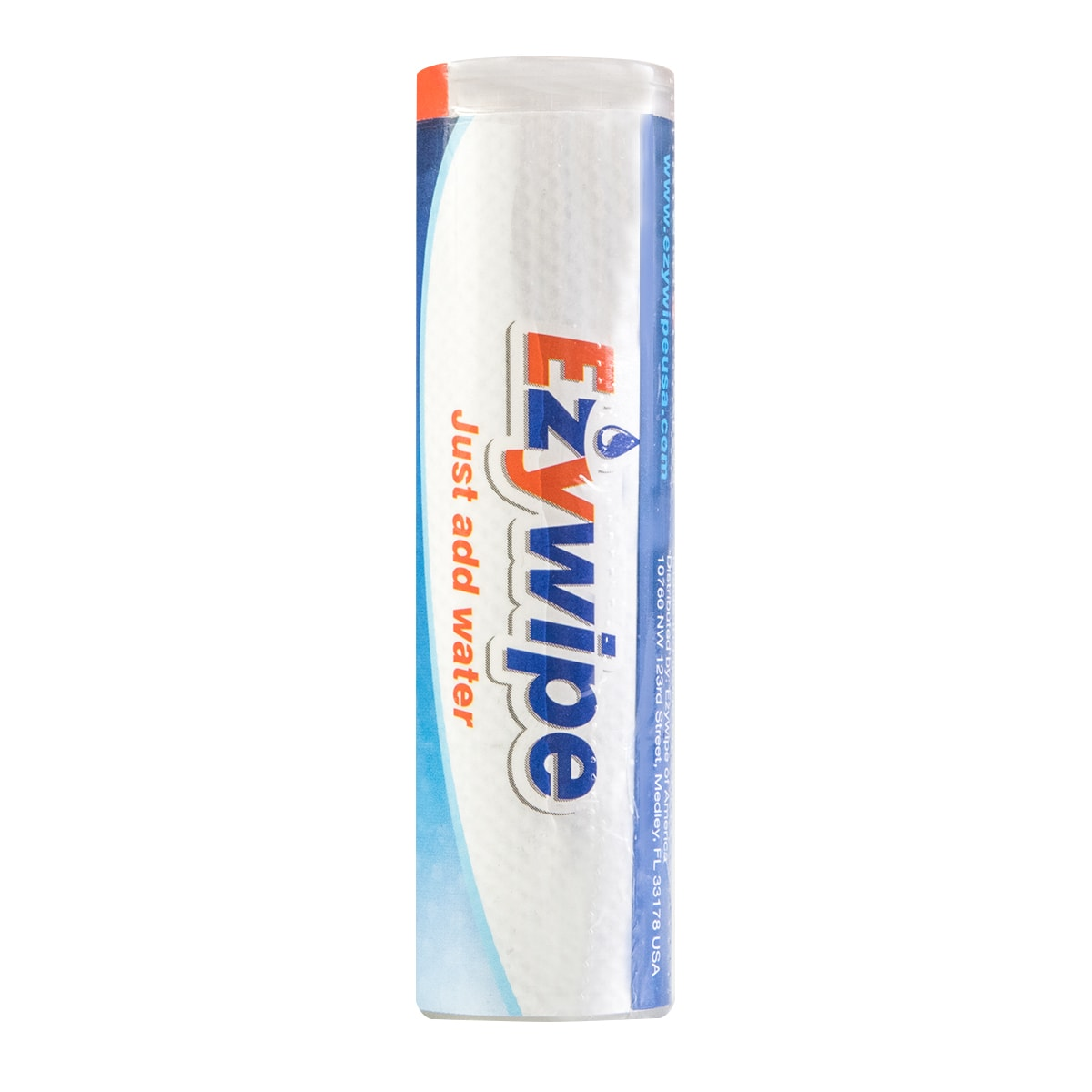 EZYWIPE Individually Wrapped Cleansing Towel Convenient Bottle Packaging Size S