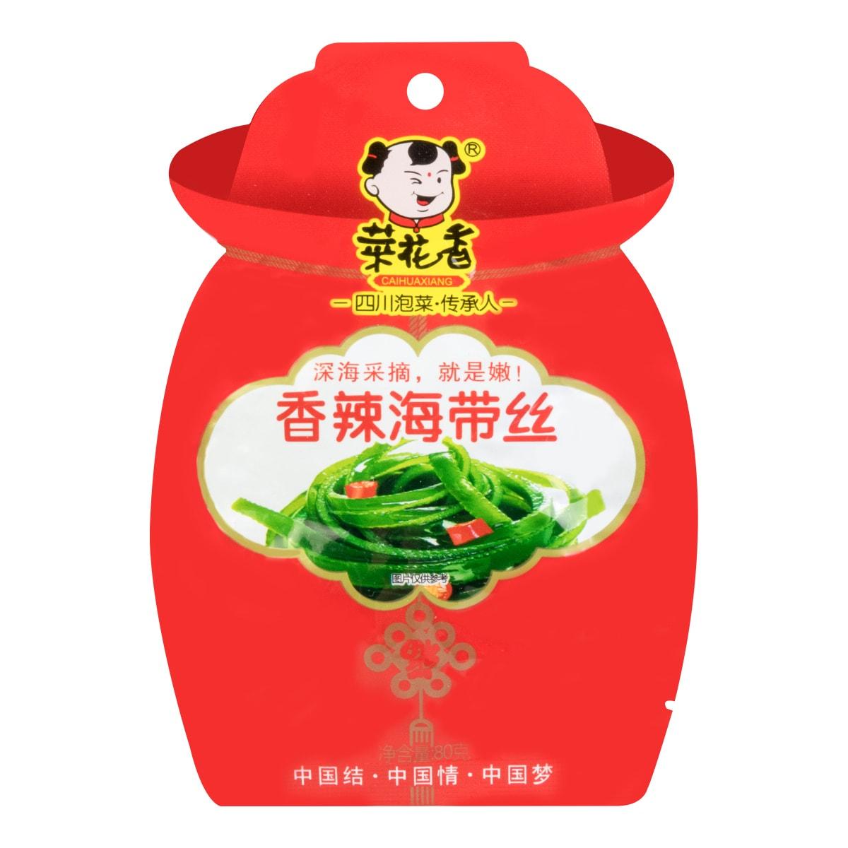 菜花香 香辣海带丝 80g