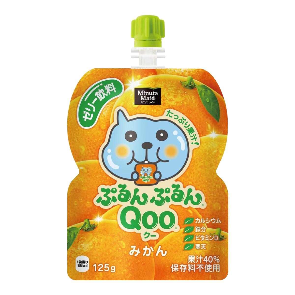 美汁源 酷儿 果冻饮料 橘子味 125g