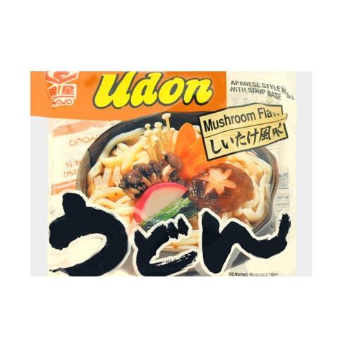 日本MYOJO明星 速食乌冬汤面 野生蘑菇风味 205g