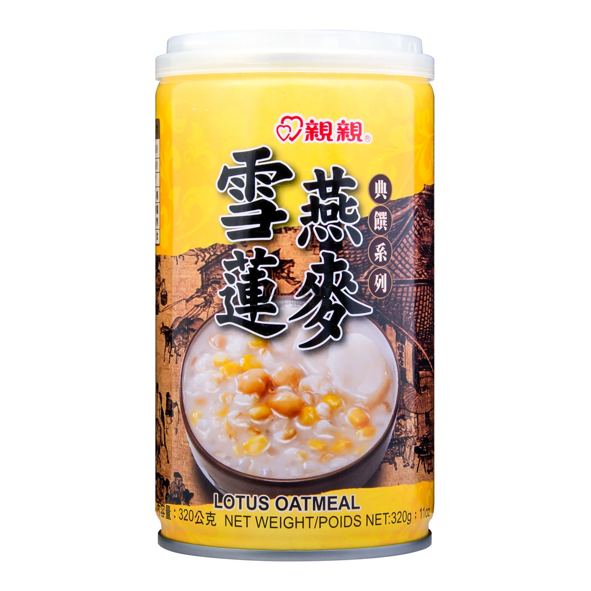 CHINCHIN Lotus Oatmeal 320g