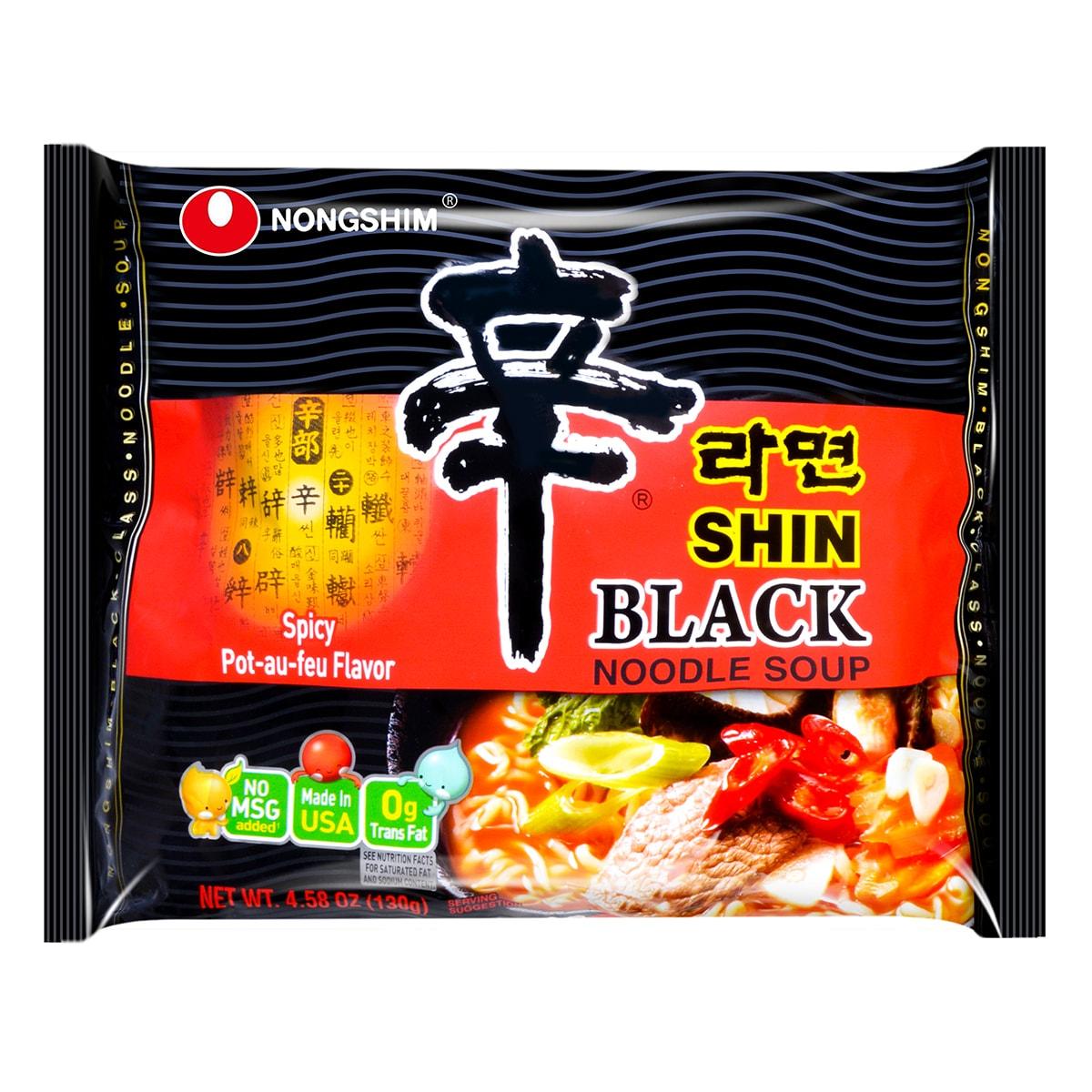 韩国NONGSHIM农心 速食辛拉面 黑色系列 130g