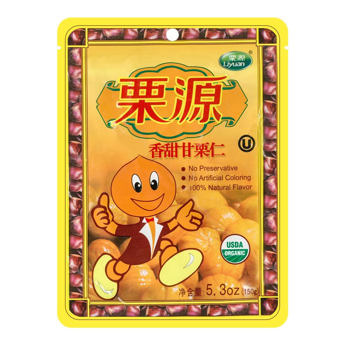 LIYUAN Organic pPeeled Chestnut USDA 150g