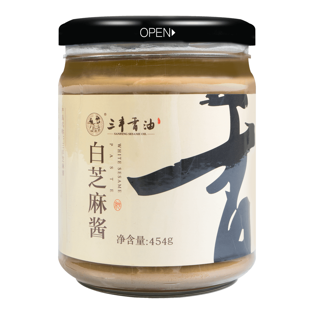 SANFENG SESAME OIL White Sesame Paste 454g
