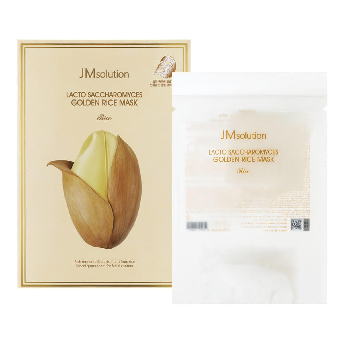 JM solution Lacto Saccharomyces Golden Rice Mask