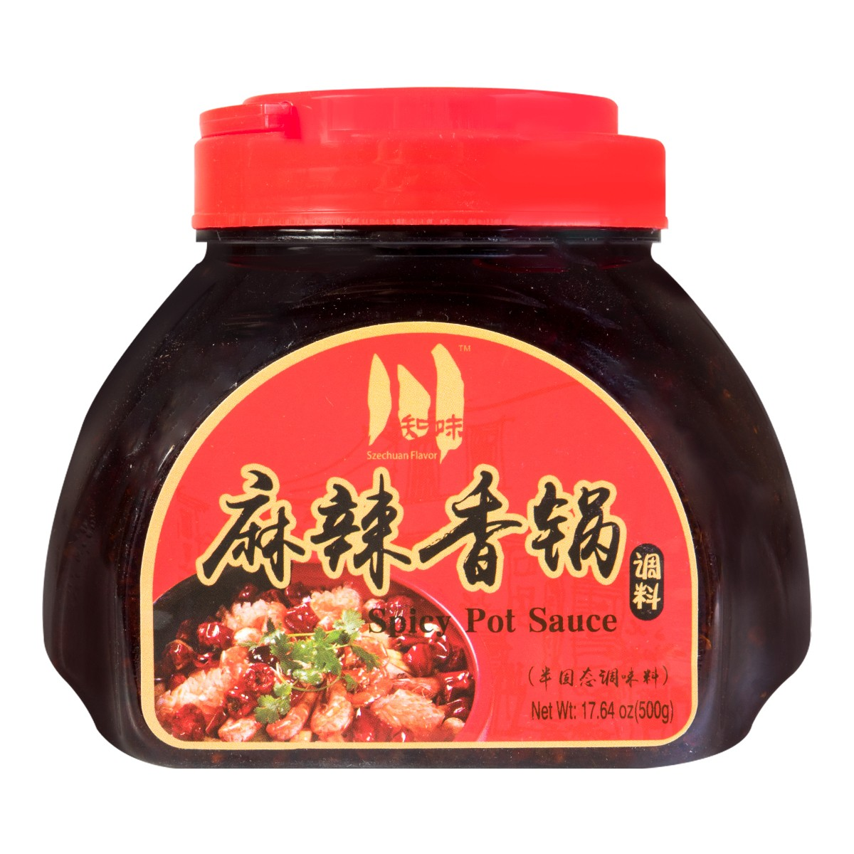 CHUANZHIWEI Spicy Pot Sauce 500g