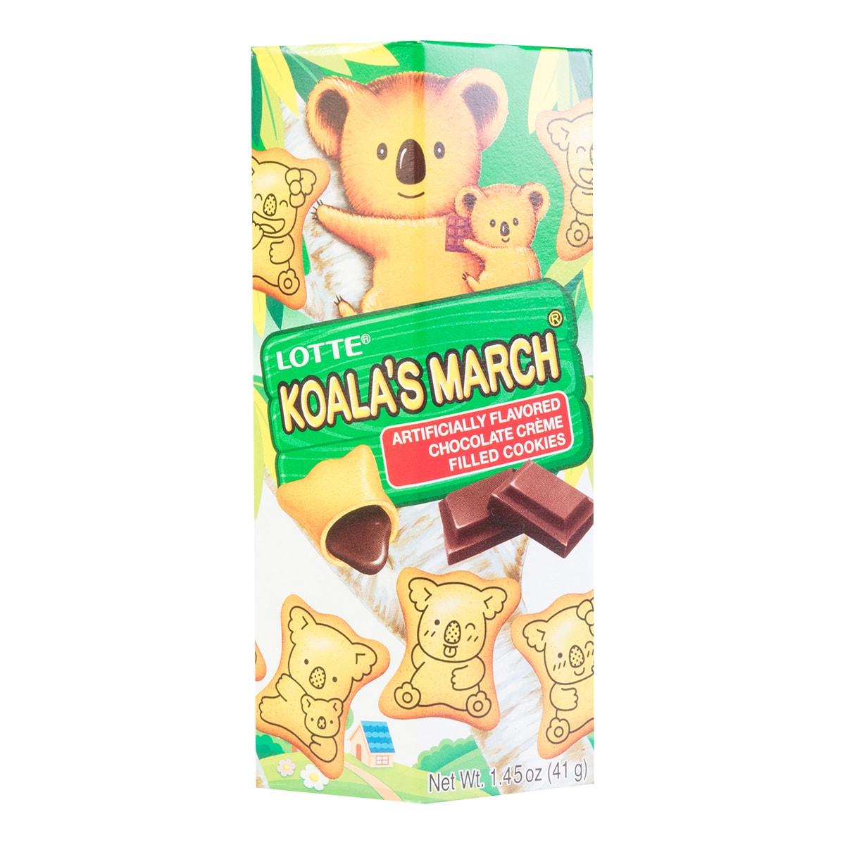 日本LOTTE乐天 考拉系列饼干 巧克力味 41g