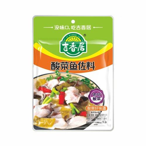 吉香居 酸菜鱼佐料 老坛酸菜 300g 四川特产