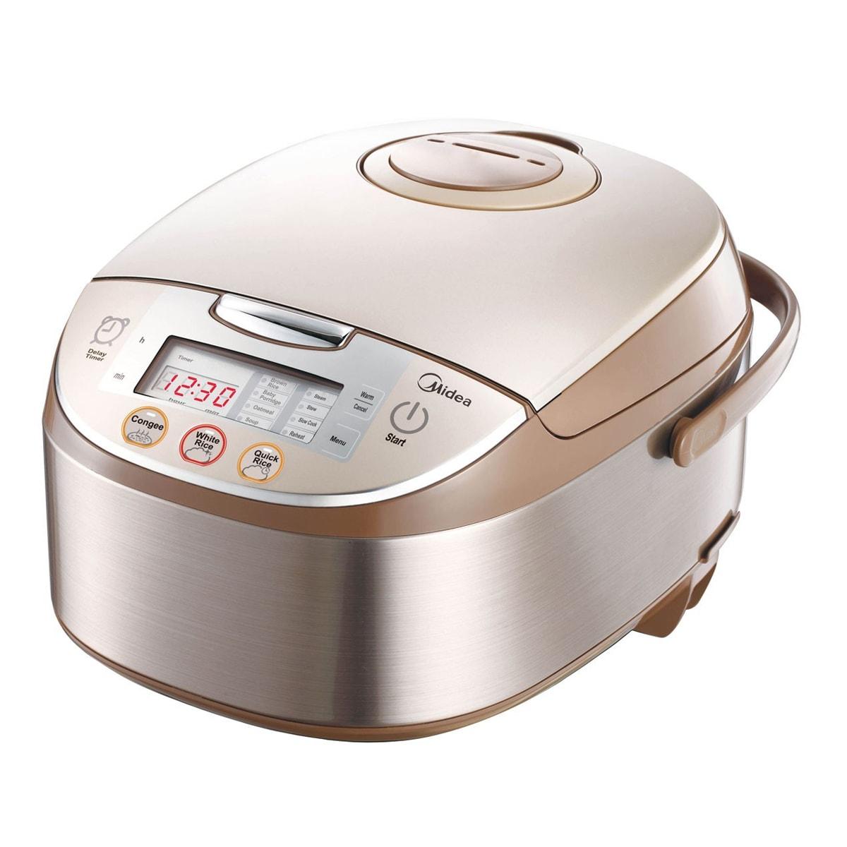 MIDEA美的 全智能电脑触摸控制电饭煲 1.8L 10杯米容量 MB-FS5017 16.65