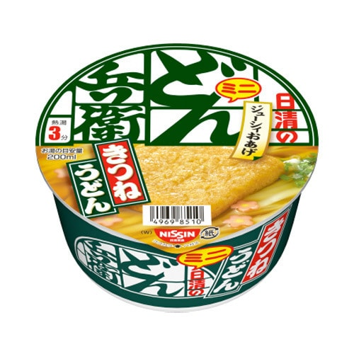 NISSIN Donbei Kitsune Udon with Fried Tofu 42g