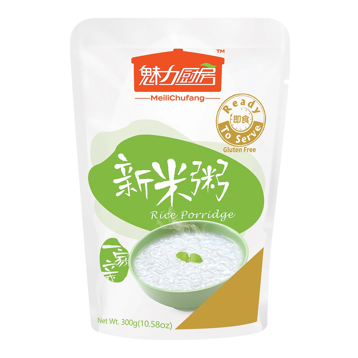 太太乐 魅力厨房 即食新米粥 300g  早餐夜宵食品代餐方便速食轻断食