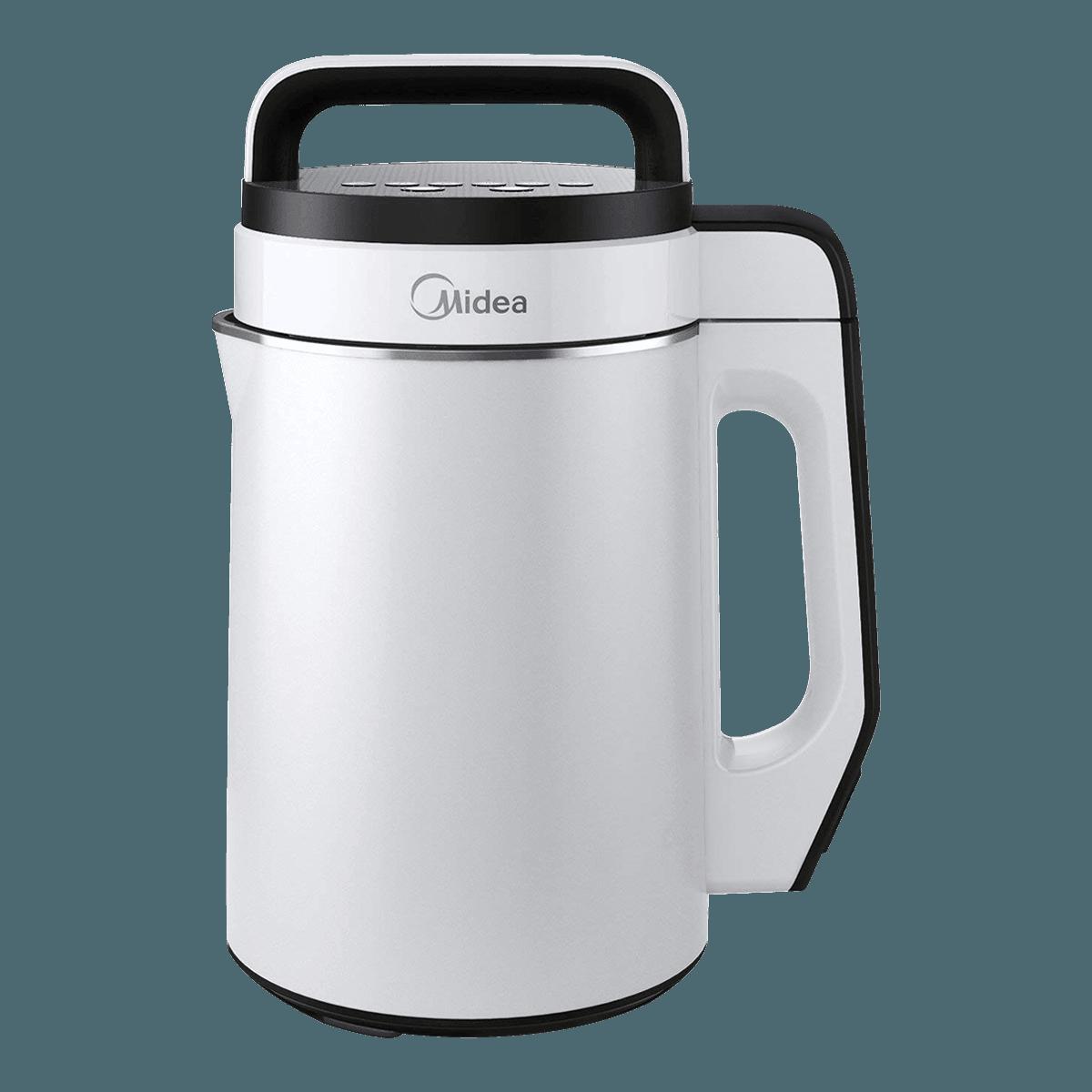 MIDEA美的 全自动多功能不锈钢双层豆浆机 1.7L MNRG17-W